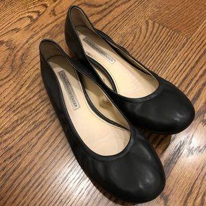 Vera Wang Lavender Black Flats